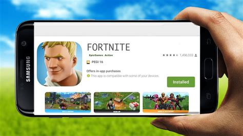fortnite mobile android is here fortnite app android play release gameplay