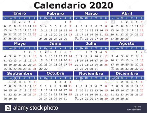 vector calendar spanish easy edit apply calendario