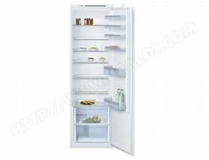 Refrigerateur Bosch 1 Porte : bosch kir81vs30 pas cher r frig rateur encastrable 1 ~ Melissatoandfro.com Idées de Décoration