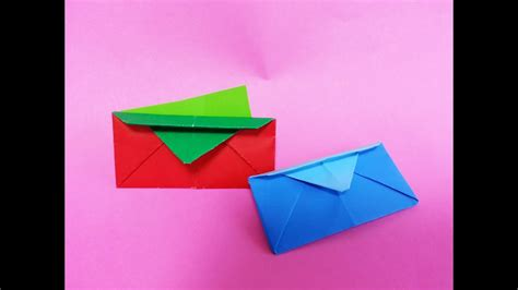 origami wallet youtube