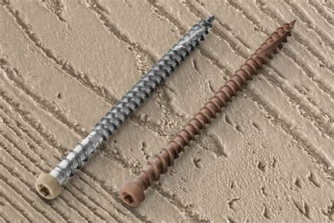 Installing Trex Decking With Screws by Midwest Vinyl Products Inc Headcote Cap Tor Screws