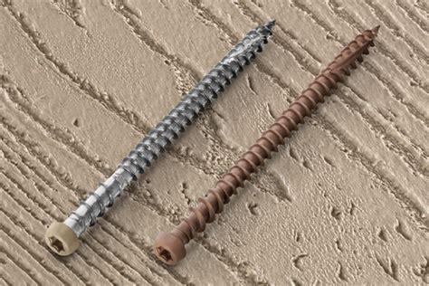 installing trex decking with screws midwest vinyl products inc headcote cap tor screws