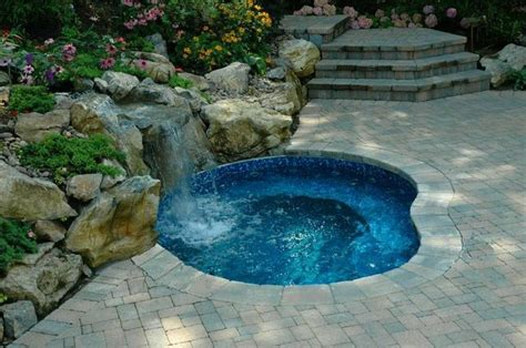 inground spa in ground spa modern pool new york by long island hot tub quot hot tub and pool experts quot