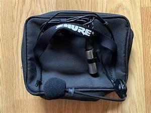 Shure Wh20xlr Cardioid Dynamic Headset Mic W   Xlr