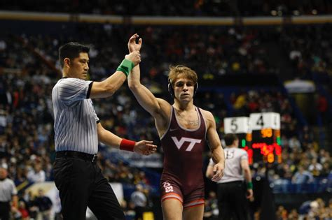 Five Virginia Tech Wrestlers Advance To Ncaa Quarterfinals