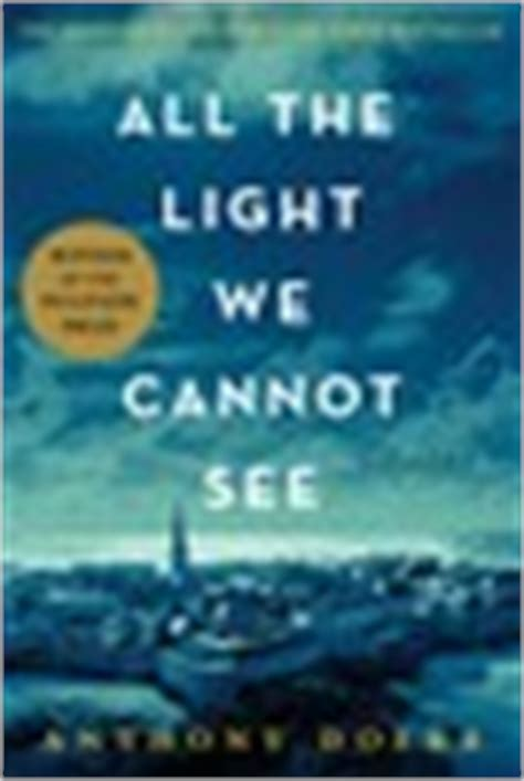 All The Light Cannot See Reading Group Guide Book