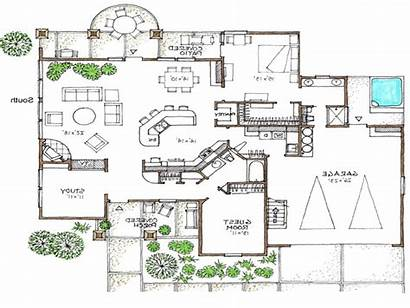 Plans Efficient Floor Story Open Space Awesome