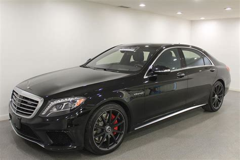 Certified Pre-owned 2016 Mercedes-benz S-class S63 Amg 4
