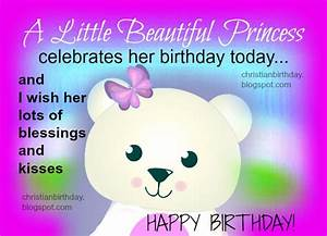 Happy Birthday for a Girl, a Little Princess | Christian ...
