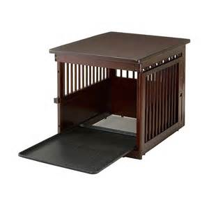 richell richell wooden  table pet crate crates pens