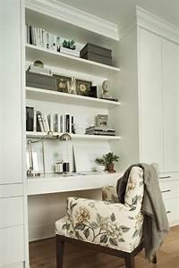 built in desk Built In Desk - Contemporary - den/library/office - Kelly ...