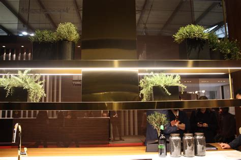 kitchen islands lighting milan 39 s eurocucina highlights in kitchen design and