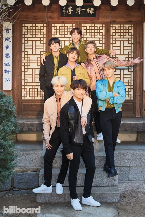 Bts Billboard Covers All Of The Pics From The Cover Shoot Billboard