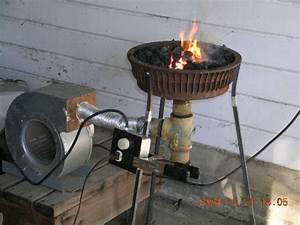 Homemade Brake Drum Forge