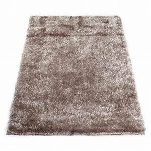 tapis shaggy taupe 160 x 230 cm achat vente couverture With tapis shaggy taupe