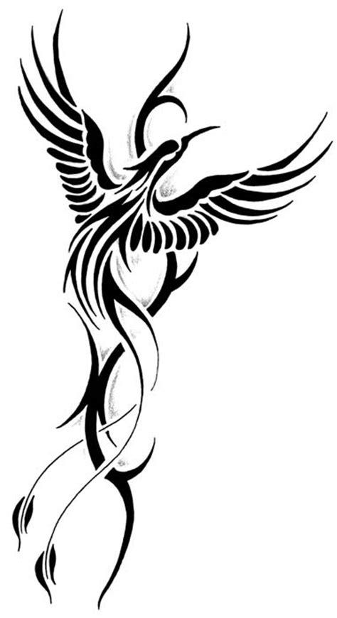 latest phoenix tattoo designs
