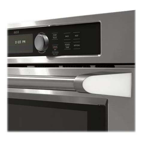 monogram  built  single electric convection wall oven stainless steel  pacific sales