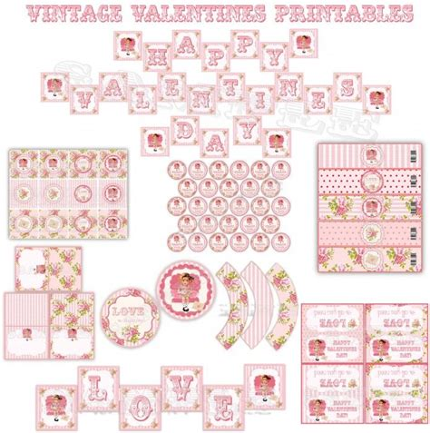 shabby chic free printables shabby chic valentine printables parties pinterest shabby free printables and craft