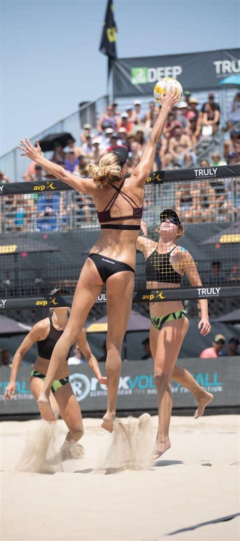beach volleyball newcomer alix klineman wont stop secures