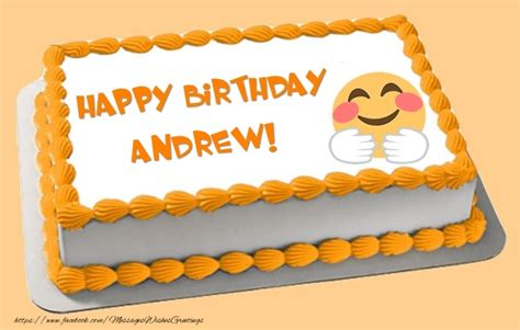 Happy Birthday Andrew Images Happy Birthday Andrew Cake Greetings Cards For Birthday