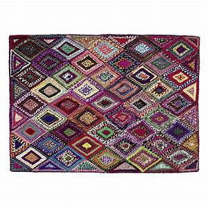 Kinderteppich 160 X 230 : tapis tiss multicolore 160 x 230 cm losame maisons du monde ~ Watch28wear.com Haus und Dekorationen