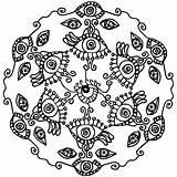 Coloring Mandala Lotus Pages Flower Eye London Pdf Eyes Easter Printable Spy Tribal Eyeball Getcolorings Easy Getdrawings Seeing Colorings Button sketch template