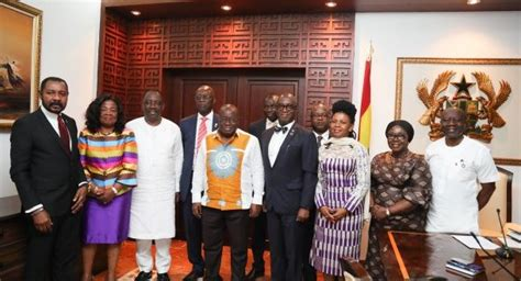 Prez AkufoAddo swears in GIPC board  The Ghana Guardian News
