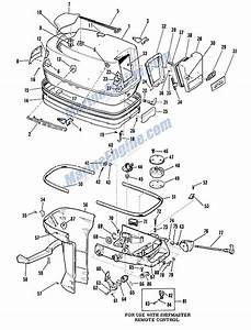 Johnson Shroud Group Parts For 1961 40hp Rds