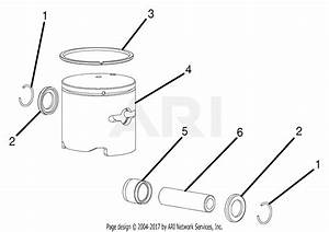 Homelite Ry60511b Gas Cultivator Parts Diagram For Piston