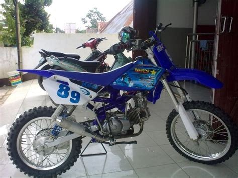 Modifikasi 4tak by Keep The Racing Spirit Bebek 4tak Modifikasi Grasstrack
