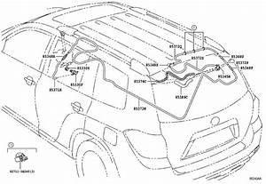 2010 Toyota Highlander Hose  Joint  Washer  Rear