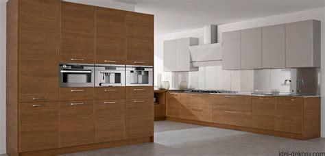 kitchen cabinets contemporary design кухонні гарнітури з фасадами з натурального дерева ідеї 5978