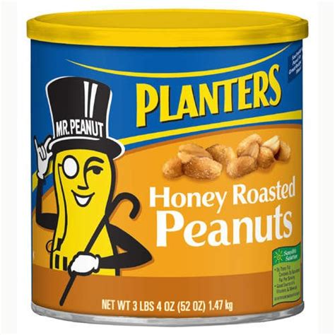 planters honey roasted peanuts ten things gaga could travel in besides an egg