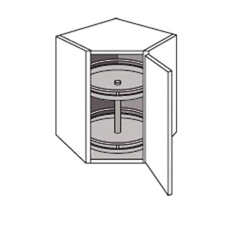 meuble en coin pour cuisine meuble de cuisine coin haut avec 2 plateaux cuisine