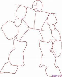 How to Draw Transformers, Step by Step, Cartoons, Cartoons ...