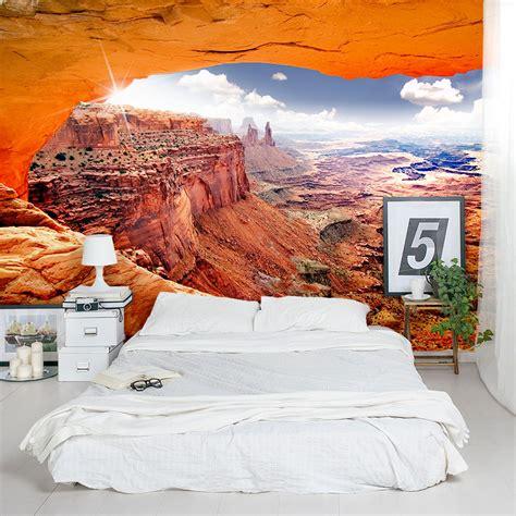 desert valley landscape wall mural sticker  wallums