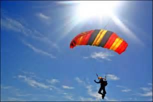 Skydiving Parachute