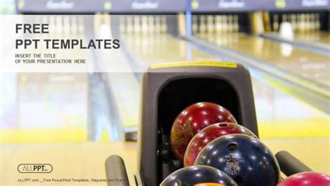 close   bowling balls powerpoint templates