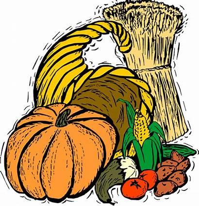 Thanksgiving Harvest Fall Clipart Festival Clip Cliparts