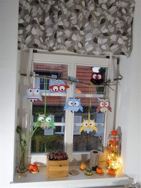 Fensterdekoration Herbst Basteln by Die Besten 25 Eulen Schule Ideen Auf Clay Owl