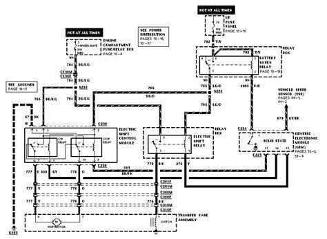 wiring diagram for 1998 ford ranger wiring diagram