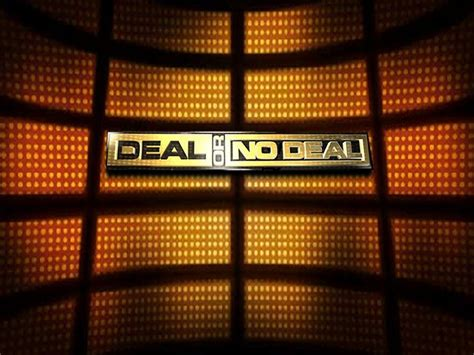 Deal Or No Deal Powerpoint Template by Andrew Chua 1902 Deal Or No Deal