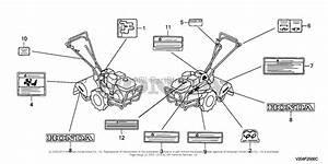 Honda Frc800 A Rototiller  Jpn  Vin  Fahj