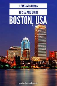 11 Fantastic Things To Do And See In Boston USA Hand