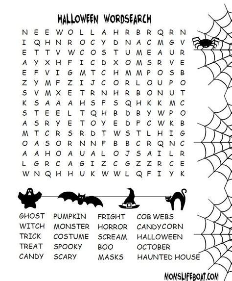 halloween word search halloween word search halloween