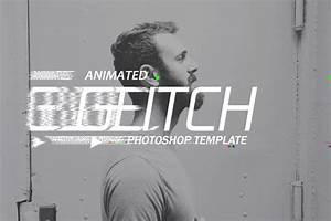 gif animated glitch photoshop templates by safisakran With photoshop animation templates