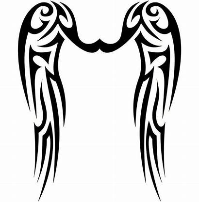 Wings Angel Tattoo Tribal Wing Designs Tattoos
