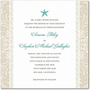 stylish starfish signature white textured wedding With wedding paper divas beach invitations