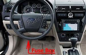 Fuse Box Diagram Ford Fusion  2006