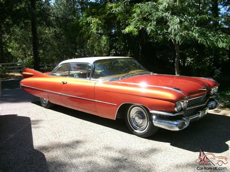 1959 Cadillac Coupe Deville Custom Paint And Leather